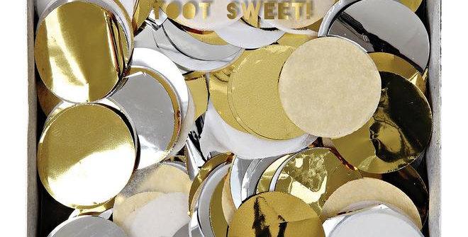 Confettis métaliques fête
