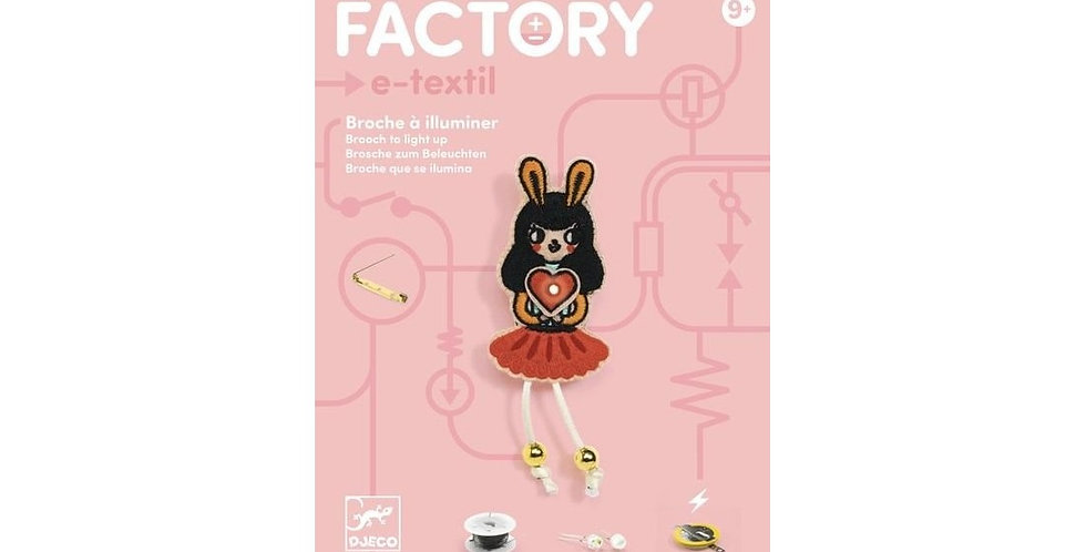 Factory - Broche Bunny Girl