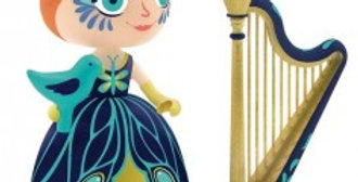 Arty Toys Princesses - Elisa and the Harpe
