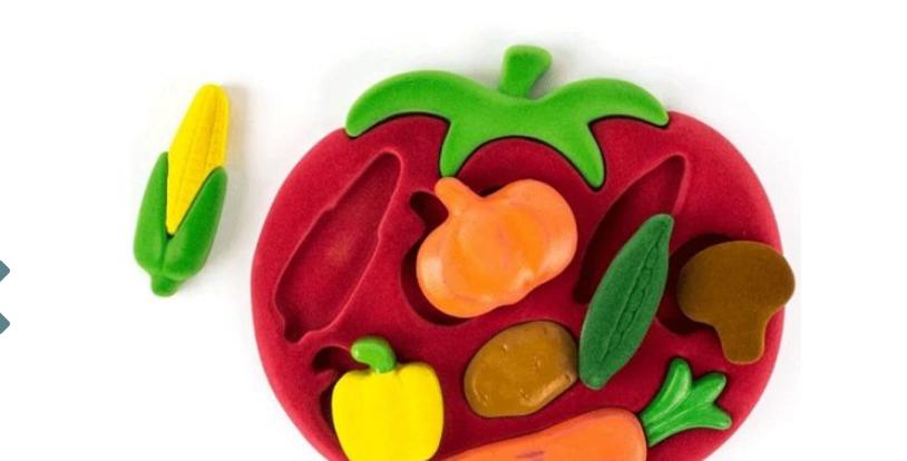 Puzzle éducatifs légumes