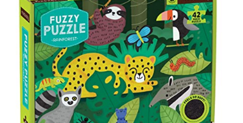 Puzzle Fuzzly Rainforest