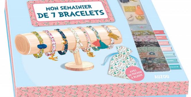Mon semainier à 7 bracelets