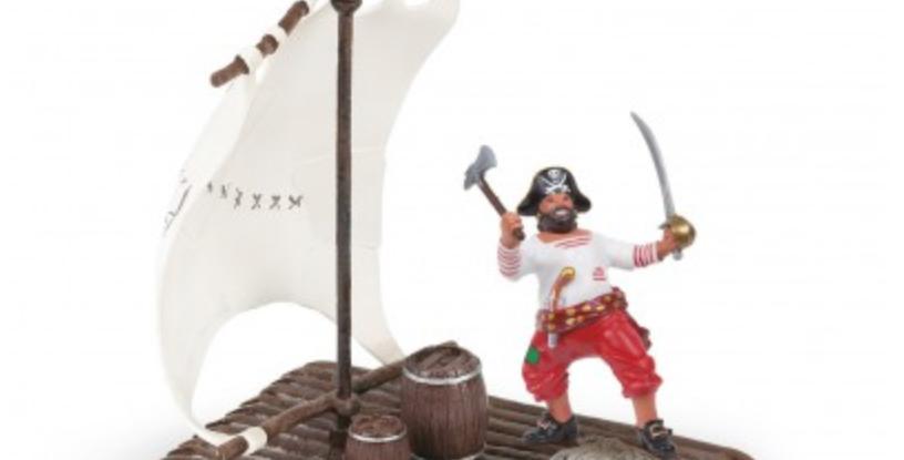 Le radeau pirate