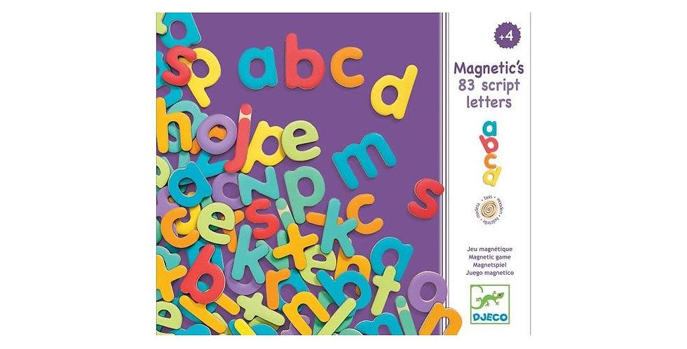 Magnetic's bois - 83 script letters