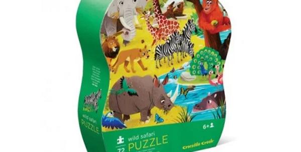 72 pcs Puzzle - Wild safari