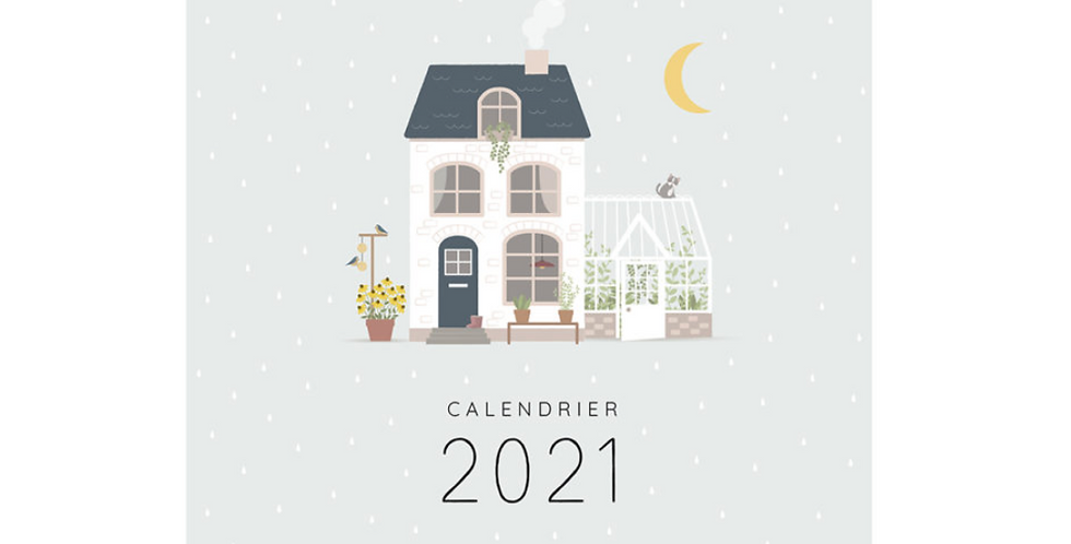 Calendrier mural 2021