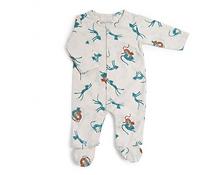 Pyjama jersey crème allover guépards - Sous mon baobab