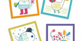 Coloriages pour les petits - Dessiner ensemble, Animaux rigolos