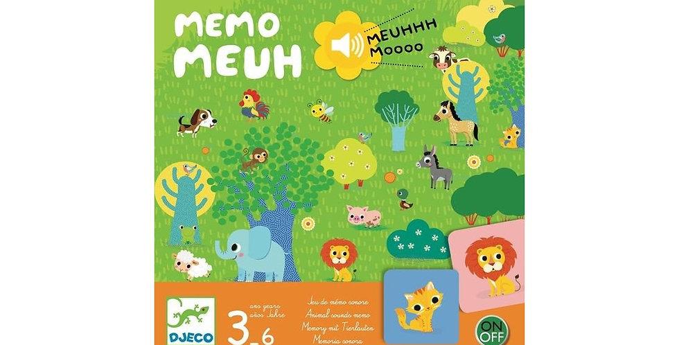 Jeux - Memo Meuh
