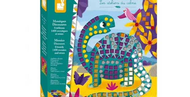Mosaiques - Dinosaures Janod