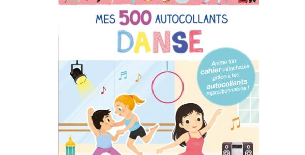 Mes 500 autocollants - Danse