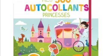 Mes 500 autocollants - Princesses