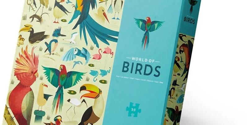 750pcs - World of birds
