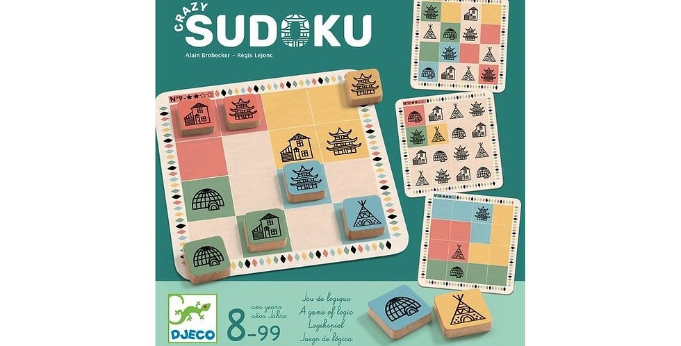 Jeux - Crazy Sudoku
