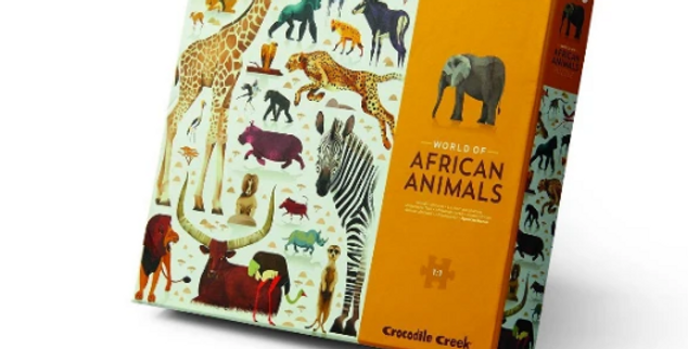 750pcs - World of african animals