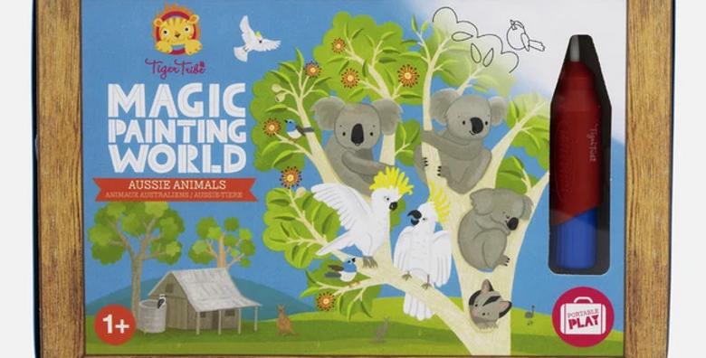 Magic Painting - Aussie Animals
