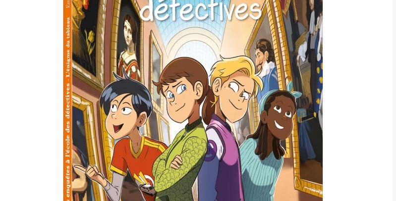 Mes enquêtes à l'école des détectives- Enigme du tableau