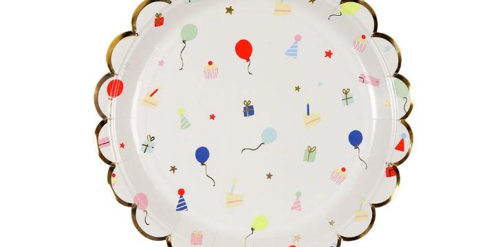 8 petites assiettes - Icône fête