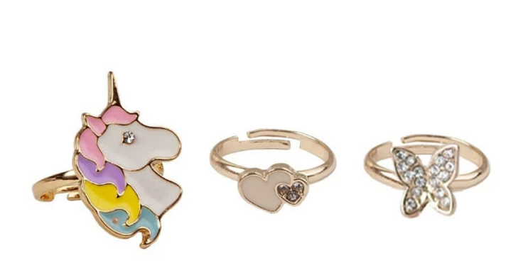 Bagues boutique - Butterfly and Unicorn