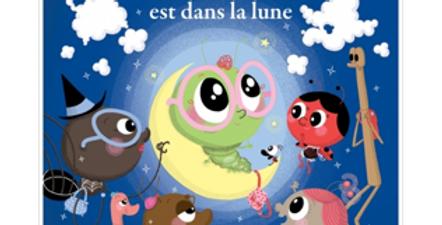 Mes p'tits albums - Chouquette est dans la lune
