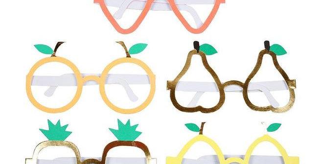 10 lunettes festives fruits