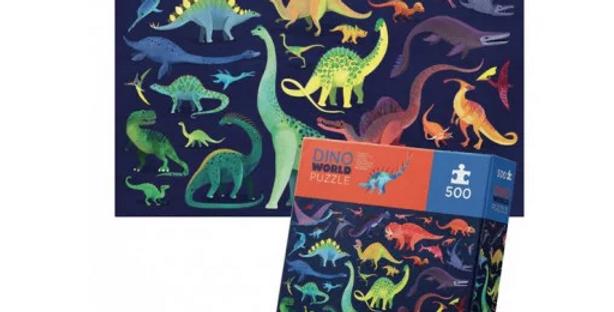 500 pcs Boxed - Dino world
