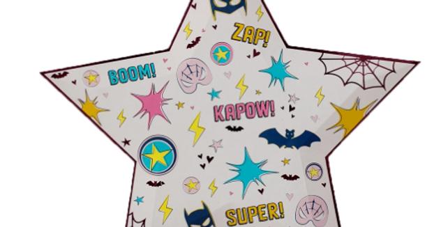 Grandes assiettes - Super Heros