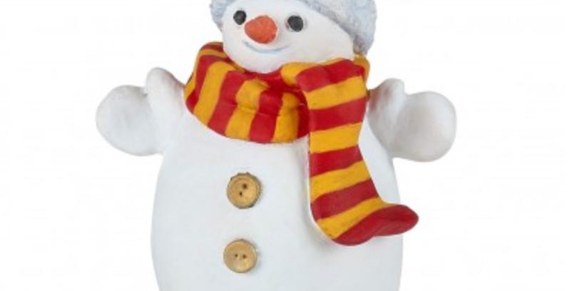 Bonhomme de neige au bonnet