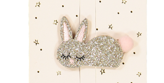 Barrette – Lapin – Or