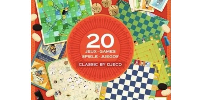 Jeux classiques - 20 jeux
