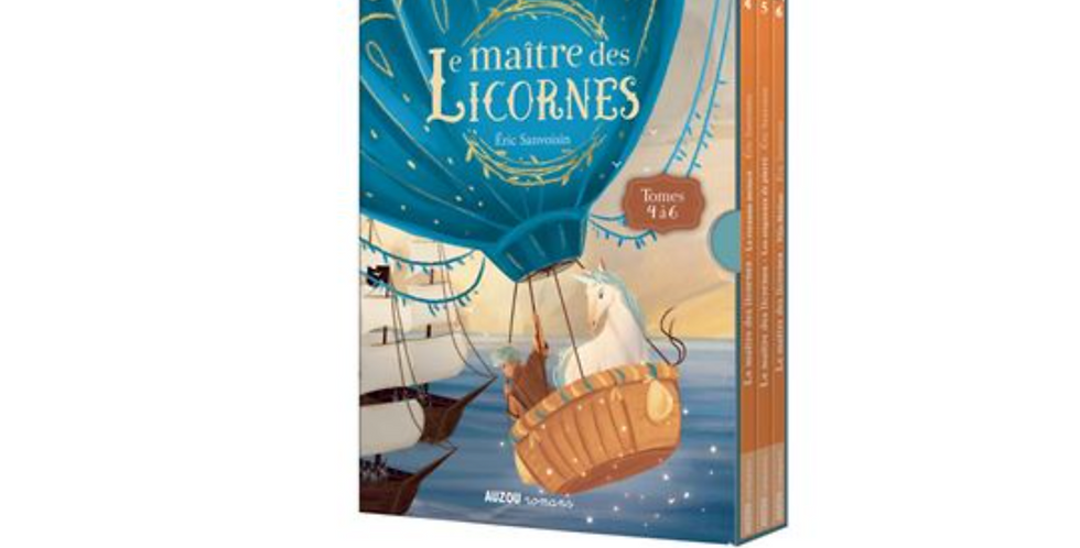 Coffret trilogie - Le maitre des licornes - 4-6