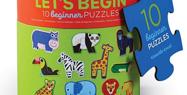 Puzzle Let's begin - Jungle