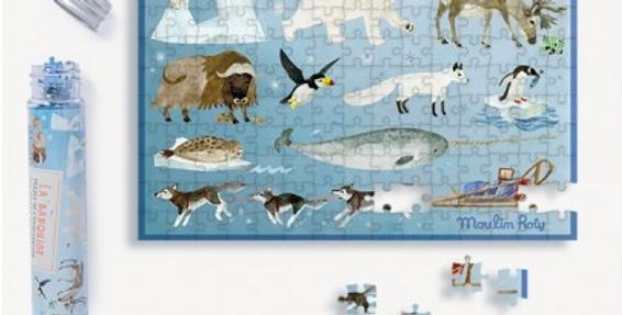 Mini puzzle de l'explorateur - la banquise