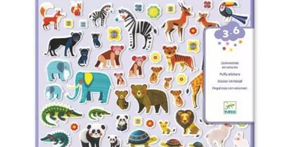Gommettes et stickers - Maman et petits