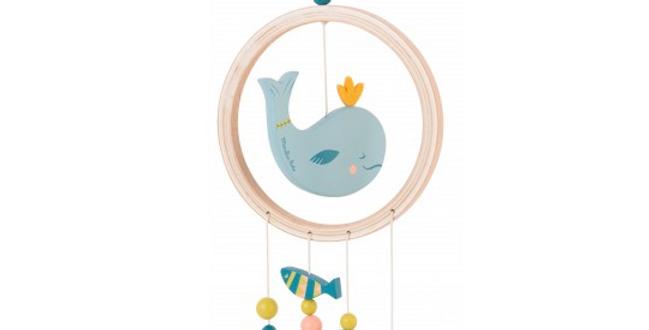 Attrape rêves baleine - Le voyage d'Olga