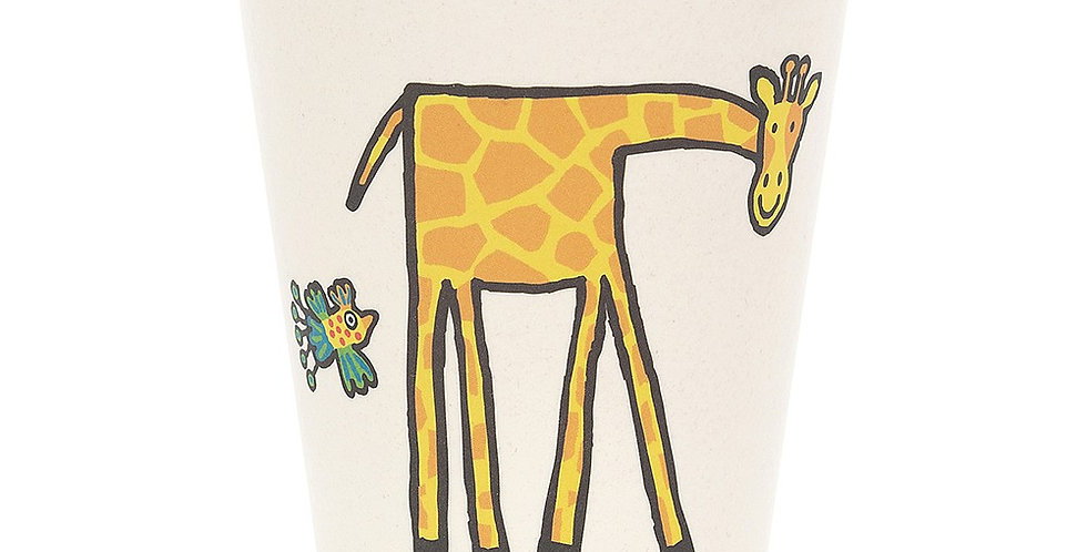 Jungly Tails bamboo cup