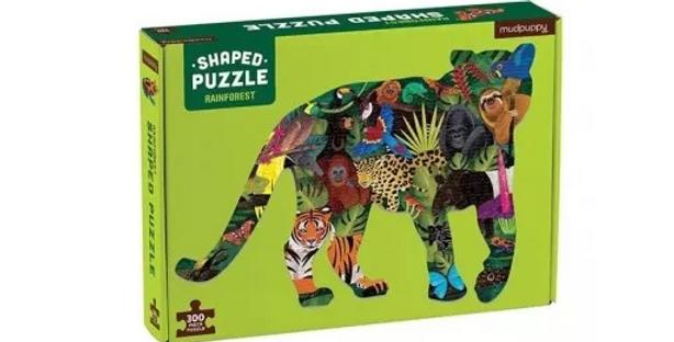 300 pcs Shaped Puzzle - Rainforest
