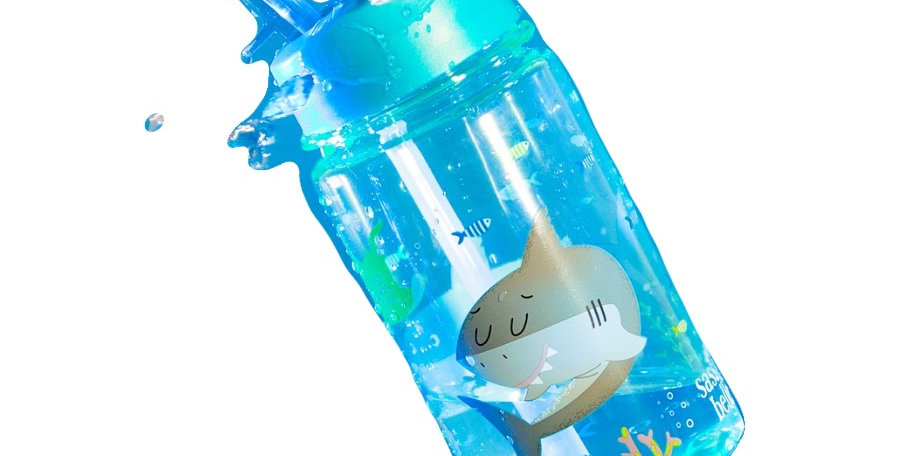 Drink Up Shelby the Shark Water Bottle