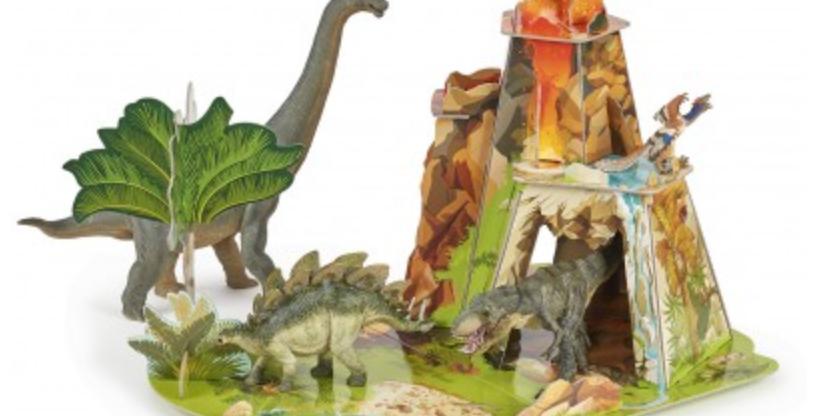 La terre des dinosaures ISIPLAY