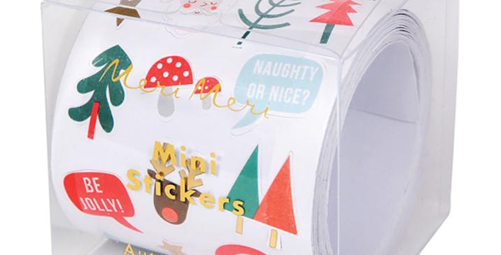 Christmas - 50 stickers Noel