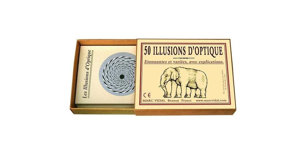50 Nouvelles illusions d'optique