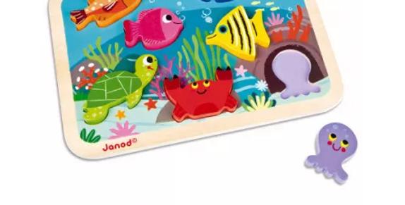 Chunky Puzzle marin