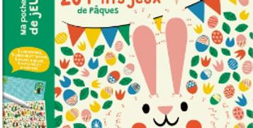 Ma pochette de jeux - 20 lp'tits jeux de Pâques