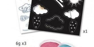 Coffret maquillage - Arc en ciel