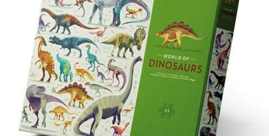 750pcs - World of dinosaurs
