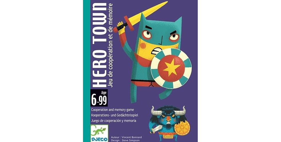 Jeux de cartes - Hero Town
