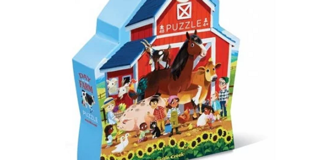 Day at the Museum - At the farm 48 pcs