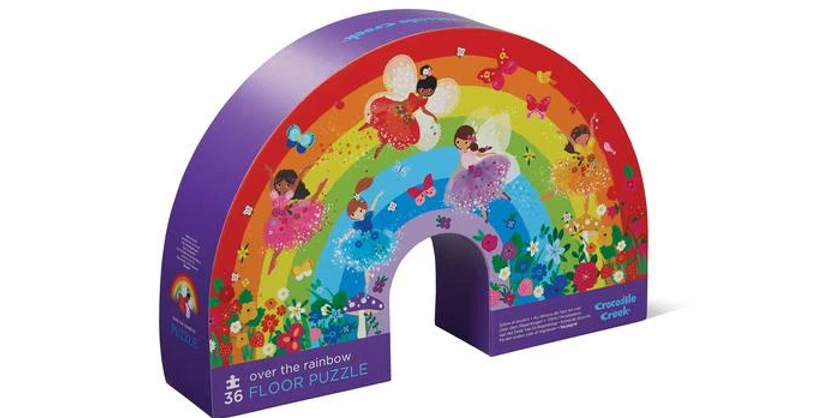 36 pc Shaped Puzzle - Over the rainbow