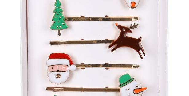 Christmas - Christmas hairclips
