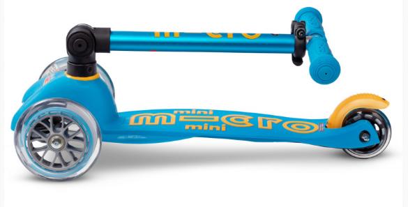 Trottinette Mini Micro Deluxe Pliable Bleu océan